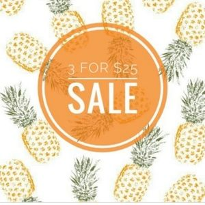 3/25 sale! 🍍All items with a pineapple 🍍